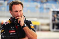 Christian Horner, Red Bull, Bahrain International Circuit, Bahrain Grand Prix, 2014