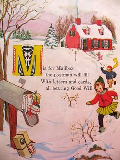 M is for Mailbox...
