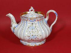sehr große Biedermeier Teekanne Friedrich Adolph Schumann, 1851-1869