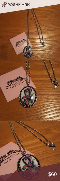 Tarina Tarantino Mad Hatter necklace Alice in Wonderland Collection Tarina Tarantino Jewelry Necklaces
