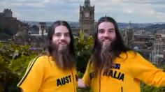 The Edinburgh Festival, comedy act warm-up video with The Nelson Twins Comedy Acts, Funny Comedy, Funny Comedians, Edinburgh Festival, Laughter, Acting, Twins, Rain Jacket, Windbreaker