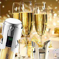 Universal de acero inoxidable Champagne Wine Bottle Stopper