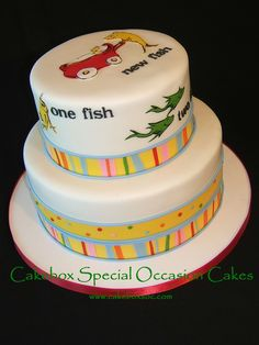 Dr. Suess Cake | by Cakebox Special Occasion Cakes