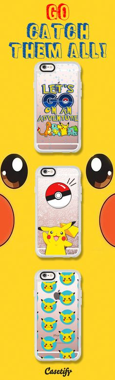 All time favourite Pokemon iPhone 6 protective phone case designs. Gotta catch them all!  | Click through to see more iphone phone case ideas >>> https://www.casetify.com/artworks/qica3i7MoH  | @casetify