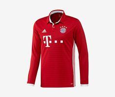 FC Bayern Munich Long-Sleeve Home Jersey (Men's) (2016-17)