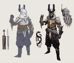 "Clothing: Tevinter --- "" The Venatori concept art in The Art of Dragon Age: Inquisition """