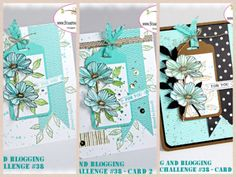 Stampin Up Peaceful Petals and the Stamping and Blogging Sketch Challenge #38 January 7, 2014 | Stamps: Peaceful Petals #133104, Itty BItty Banners, Teeny Tiny Wishes, Gorgeous Grunge; Ink: Stazon Black, Gumball Green, Coastal Cabana, Bermuda Bay, Soft Suede; Card Stock: Whisper White, Fresh Prints DSP, Coastal Cabana, Basic Black; Tools & Accessories: Bitty Banners, Corner Rounder Punch, Scallop Tag Punch, Gold Sequin Trim, Watercolor wonder Washi Tape, Stamp-a-ma-jig, Aqua Painter