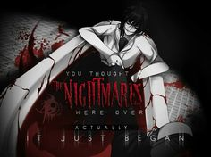 I thought it was Tokyo Ghoul at first... But no...