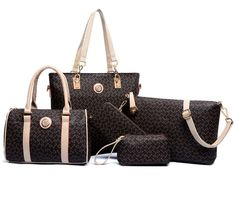Cheap composite bag, Buy Quality bag brand women directly from China bag fashion women Suppliers: 6 Sets Women Leather Neverfull Handbags Messenger Composite Bags women brand designer 2016 luxury Famous Brands Fashion Bag Fashion Handbags, Tote Handbags, Fashion Bags, Leather Handbags, Leather Bags, Tote Bags, Fashion Site, Cheap Handbags, Handbags Online
