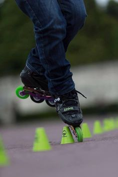 Freestyle slalom skate