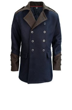 The Assassin's Creed Unity– Arno Coat is a replica of the coat worn by Arno Dorian in Assassin's Creed Unity, imagined in the modern time. Wear this elegant and warm coat in tribute to Arno Dorian; pay tribute to the fight of all these revolutionaries: Liberté, Égalité, Fraternité ( Freedom, equality and… Brotherhood!)