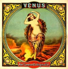 Pôster Venus Tobacco.