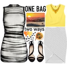 one bag two ways/ 1th Look