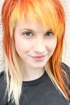 Hayley Williams of Paramore! Paramore Hayley Williams, Hayley Williams Haircut, Haley Williams Hair, Hayley Paramore, Liv Tyler, Olivia Wilde, Kylie Minogue, Jennifer Aniston, Britney Spears