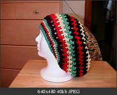 Rasta Hat (crochet)   Must make in a different color.