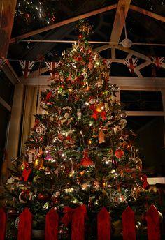 Christmas in Congleton, England