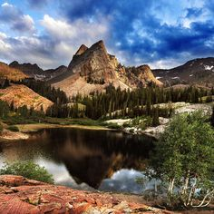 Lake Blanche in Minnesota