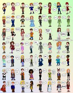 Doctor Who Companions by ~Campanita42 on deviantART
