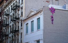 Banksy homage from Olek