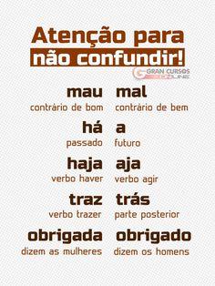 Mental Map, Learn Brazilian Portuguese, Portuguese Lessons, Portuguese Language, School Essentials, Lettering Tutorial, Study Hard, English Study, Study Inspiration