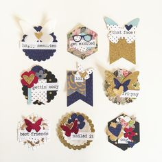 Dearly Dee: DIY Embellishments with Kellie Stamps