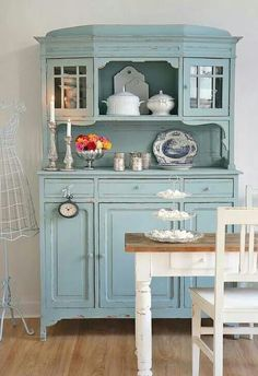 45 mejores imágenes de Aparador cocina   Muebles pintados, Muebles ...