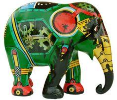 Elephant Parade Webshop - Buy your own elephant here! Asian Elephant, Elephant Art, Elephant Stuff, Elephant Information, All About Elephants, Elephants Photos, Elephant Parade, Elephant Sculpture, Tin Toys