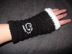 Mitaines au crochet spirales!! : Mitaines, gants par chim-inc