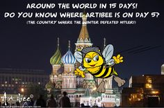 Guess where Artibee is every day, collect the answers and after 16 days you will win a great prize! Inbox me for more details. Feel free to share with your friends ;)