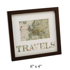 Travels frame- ideal for framing you special memories of your favourite place £12.99