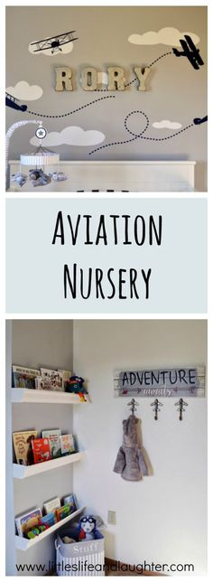 Rory Neil's Aviation Nursery - Littles, Life, & Laughter