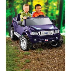 Fisher-Price Power Wheels Ford F-150 Ride-On, Purple