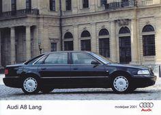 Audi A8 Lang (LWB) (Dutch, model year 2001)