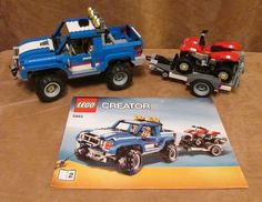 5893 Lego Creator Off-Road Power Complete instructions 3 in 1 truck four wheeler #LEGO
