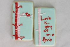 valintine cookies iced | Valentine cookies...royal icing...love these! | Party/Showers