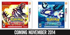 Upcoming Nintendo Games for 2014 Nintendo News Pokemon Omega Ruby, All Pokemon, Pokemon Games, Nintendo 3ds Games, Nintendo News, Game Boy, Omega Ruby Alpha Sapphire, Mega Evolution, Game Themes