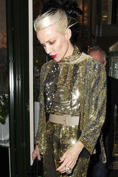 Daphne Guinness Photo - Celebs at the Christian Louboutin Dinner