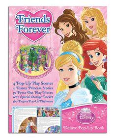 Look at this #zulilyfind! Friends Forever Disney Princess Pop-Up Hardcover by Disney #zulilyfinds