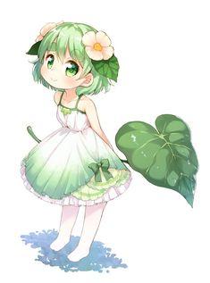 Süßes Anime Mädel