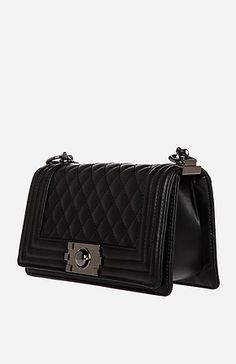 Chanel boy bag inspired, more affordable... want one!!!
