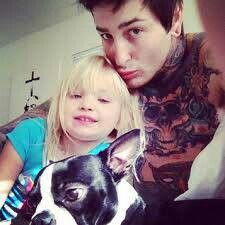 Mitch and his beautiful girl!