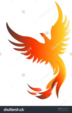 Legend has it that the Phoenix is a sacred bird capable of coming back to life from its own ashes. It is the symbol of the Resurrection in Eternity, in which the night follows day and night. It alludes to the periodic cycles of cosmic resurrection, life regeneration and human reincarnation.  Download phoenix illustration from shutterstock $1
