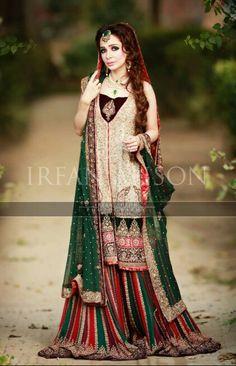 Jugan Kazim for Mariam's Saloon. Fashion Pakistan!