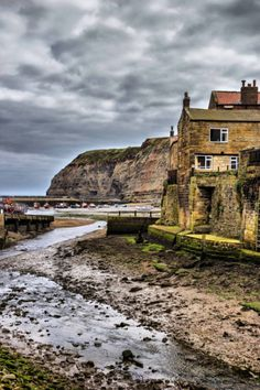 Staithes , North Yorkshire, England, by Keith Sayer