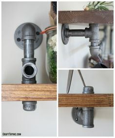 Remember our posts on Achieving an Industrial Décor with Black Iron Pipe – Part I, Part II, and Part III? In this post, Brianna and I are back for more tips on adding functional industrial décor with a quick tutorial for building some pretty awesome industrial pipe bookshelves with – you guessed it – black iron pipe and spare lumber. Throughout our travels, Brianna and I have collected knick knacks from across the globe to remind us of where we've been, what we're capable of, and where we…