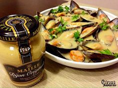 receta de mejillones con mostaza de dijon Katie Lee, Antipasto Recipes, My Favorite Food, Favorite Recipes, Mussels, Seafood Recipes, Healthy Life, Delish, Nutrition