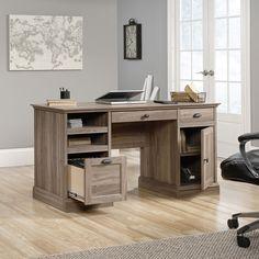 J.Conrad Furniture - Sauder Barrister Lane Executive Desk (418299), $328.99 (http://www.jconradfurniture.com/Sauder-Barrister-Lane-Executive-Desk-418299/)