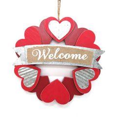 Valentine Wreath-Welcome