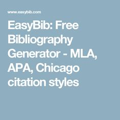 EasyBib — your online writing hub