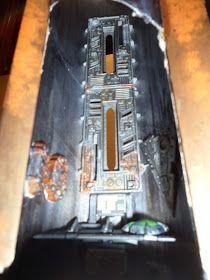 El Arte de Warhammer 40.000: Torre de control con cañón laser